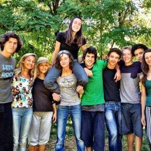 Half the crew!